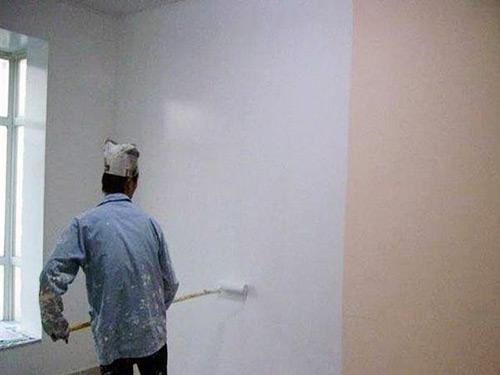 墻油漆翻新工程