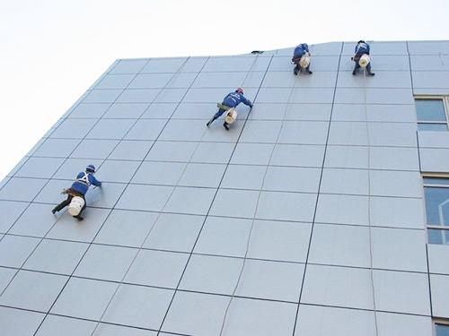 玻璃外墻清潔工程