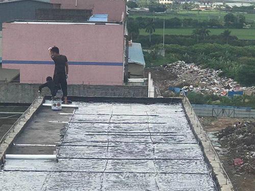 摟面防水與鐵瓦防水隔熱工程