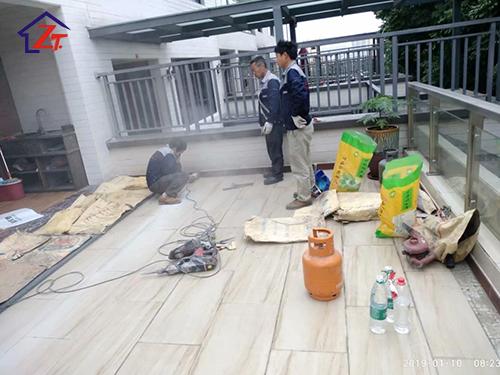 廣州越秀星匯金沙別墅補漏工程