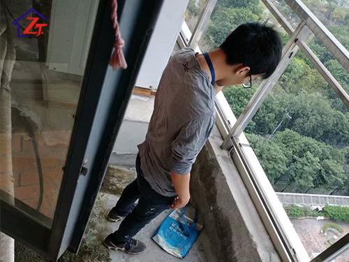 東莞電信大廈廚房、陽臺補漏工程