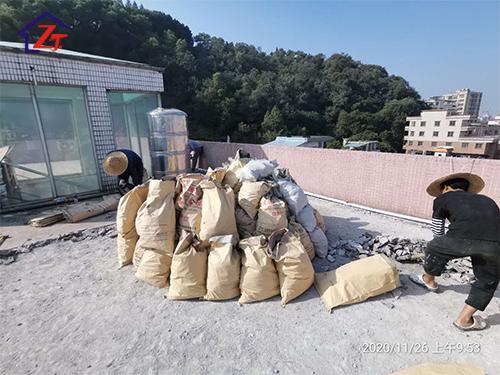 東莞虎門威遠杏林春店屋面整體防水施工