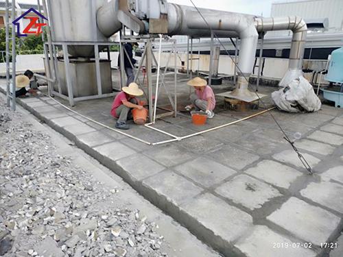 東莞海金杜門有限公司廠房樓頂補漏工程