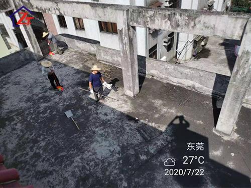 東莞第三水廠屋面整體補漏施工