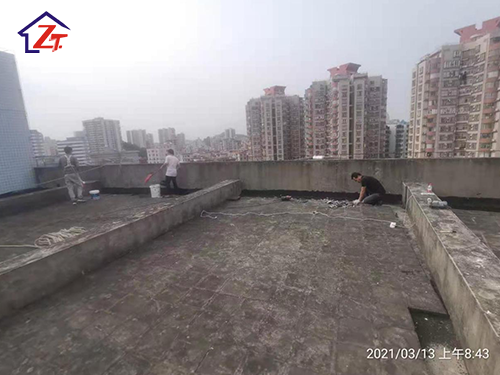 虎門房產局天面女兒墻補漏工程