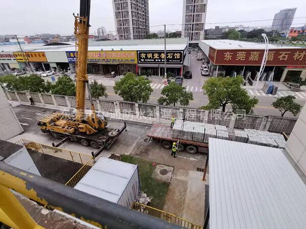 东莞以纯集团有限公司,厂房屋面整体防水隔热翻新,施工面积:14000㎡