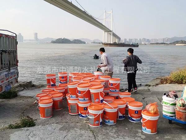 省重点防水工程:虎门大桥锚室防水工程由2019年11月到2020年2月历时4个月完成,施工面积:7500㎡