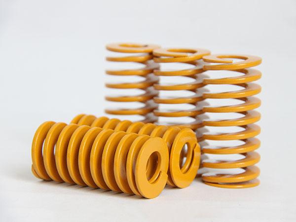 模具弹簧黄色TF22