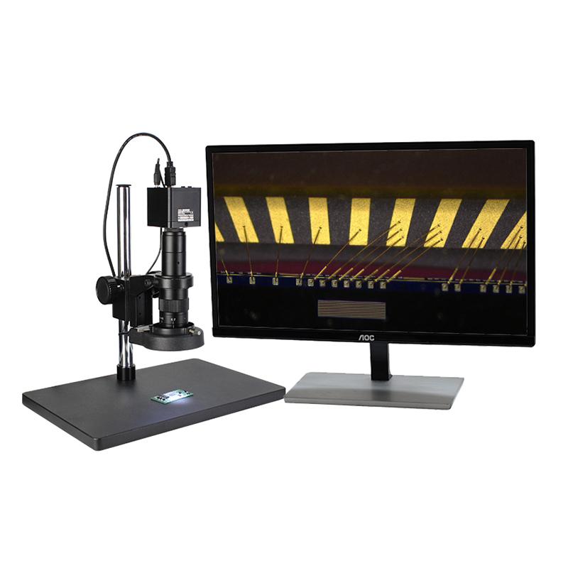 为什么视频显微镜怎么做_西派克光学_如何用_PCB金手指