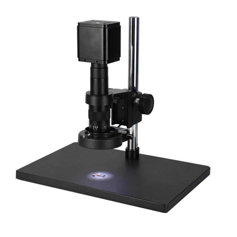 測量_工業電子視頻顯微鏡的油鏡_西派克光學