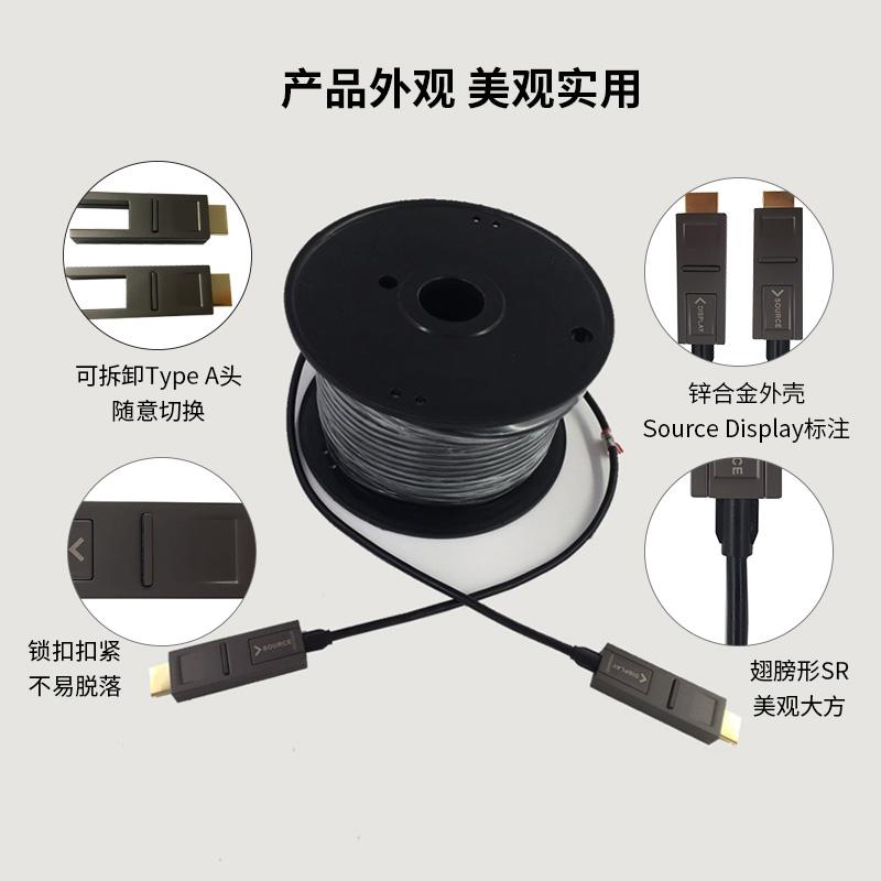 湖州4K摄像头HDMI高清线_睿发光电科技_产品质量高_产品实用