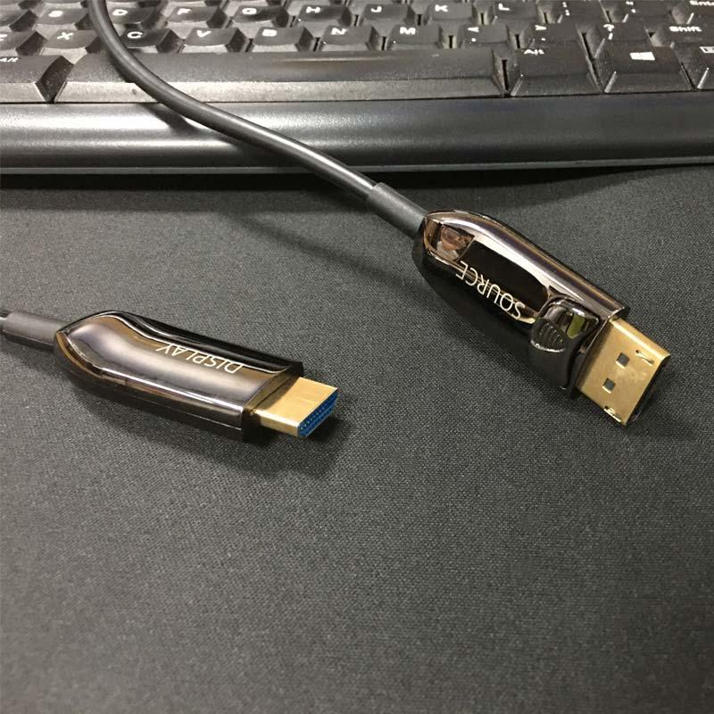 DP轉HDMI光纖線