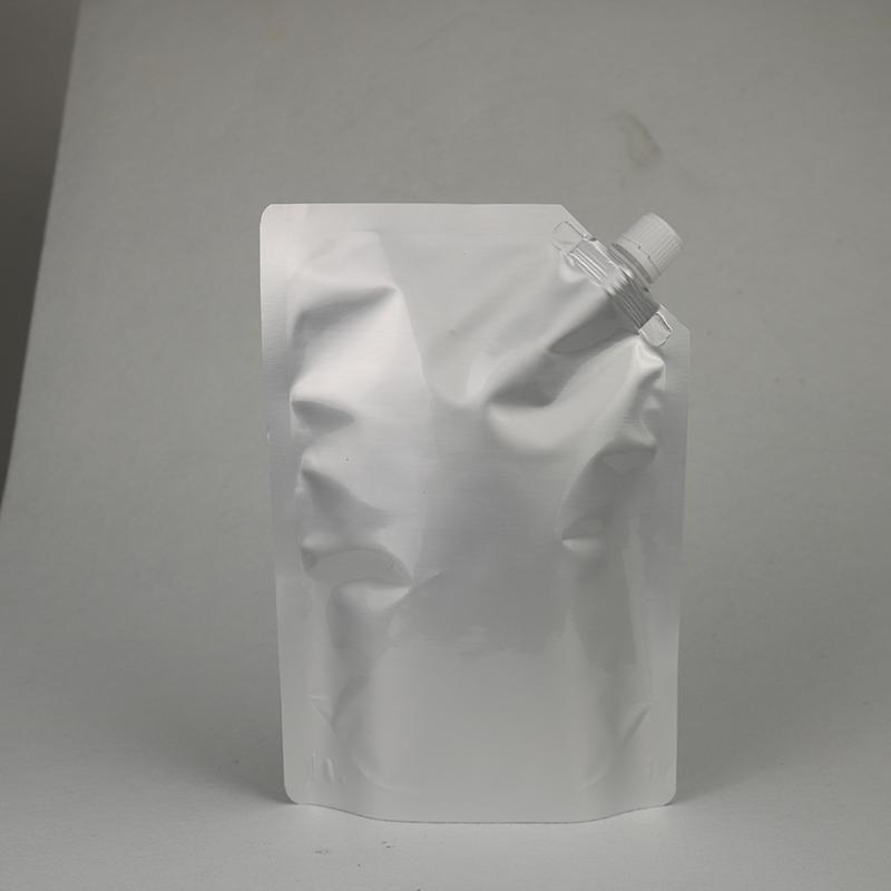 成都面膜吸嘴包裝袋廠_鴻邦包裝_立式_自立透明_鮮奶自立