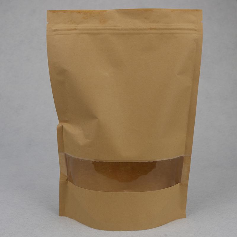 立體_環保干果牛皮紙包裝袋多少錢_鴻邦包裝