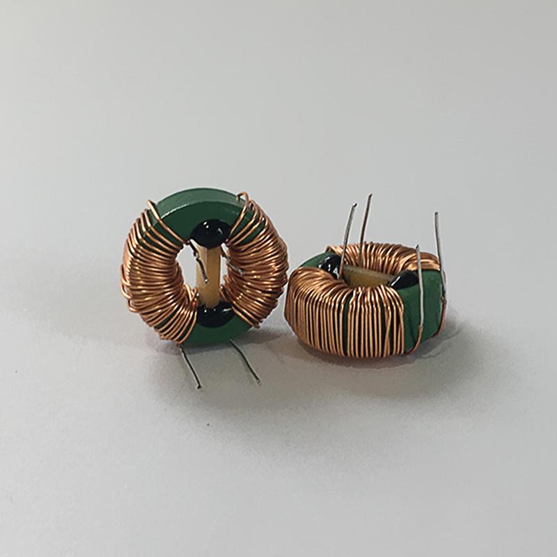 音箱電感線圈廠家生產_昊然電子_空芯_環形磁芯_串聯_濾波_微型
