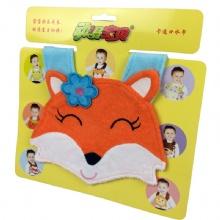 动漫宝贝 包装口水巾 狐狸