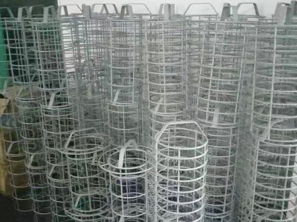 圓筒形包膠清洗籃