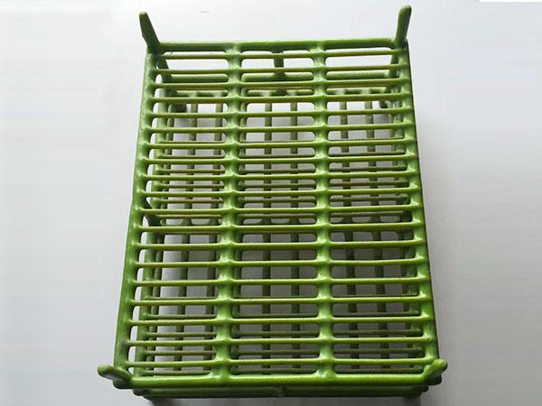 綠色包膠清洗籃