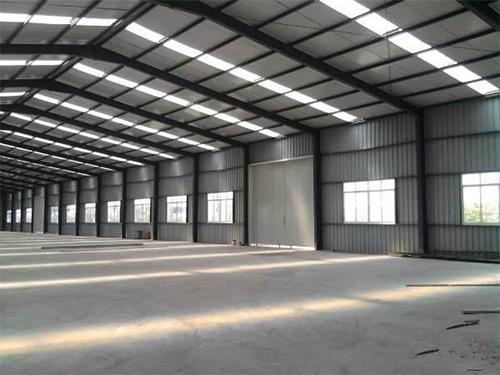 惠州钢结构厂房安装