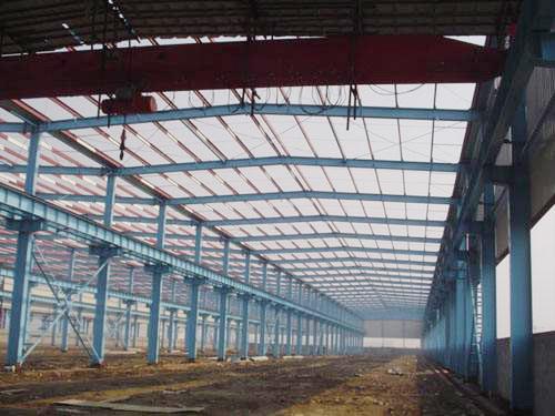 惠州钢结构厂房定做