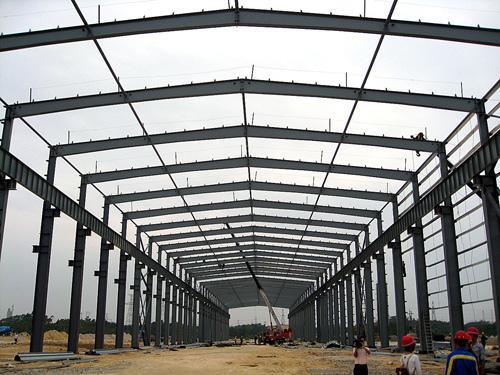 惠州钢结构厂房施工