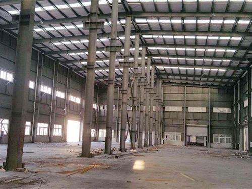 惠州钢结构厂房设计