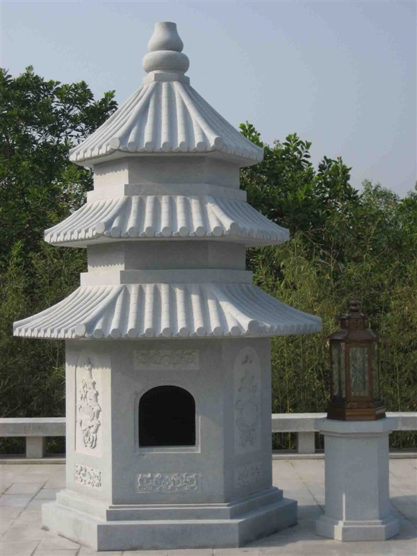 曲阳县最辉煌雕塑公司石灯石塔大理石浮雕