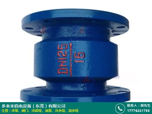 扬州304不锈钢阀门 单向 工业 高温 闭路 多来米机电