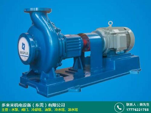 制造商 输送水泵型号 多来米机电