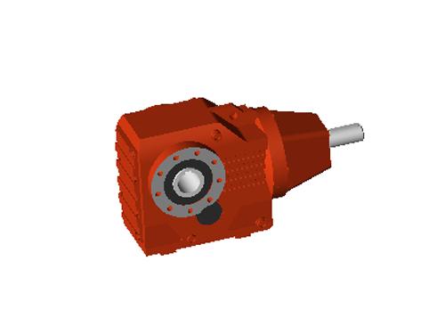 AGV设备减速机订制_锐鑫机电_K系列斜齿轮_立式_R系列斜齿轮