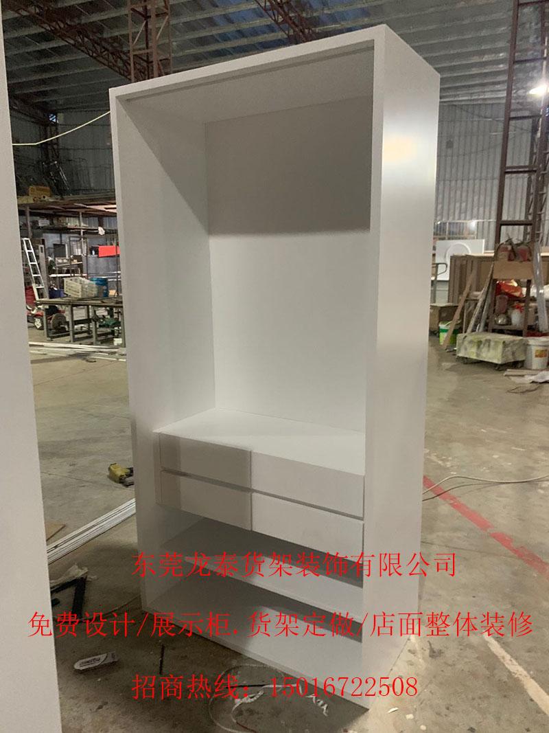 木制烤漆展架 服裝展架展架 展示柜