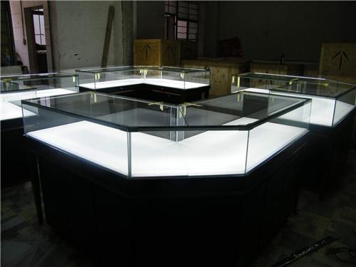 圆形展示柜哪里有_龙泰展柜_样品_博物馆_欧式_玻璃_首饰
