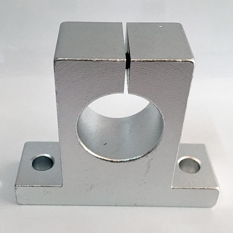 T型带座轴支座加工_恩梯恩_带法兰_不锈钢_碳钢_圆型_分离型