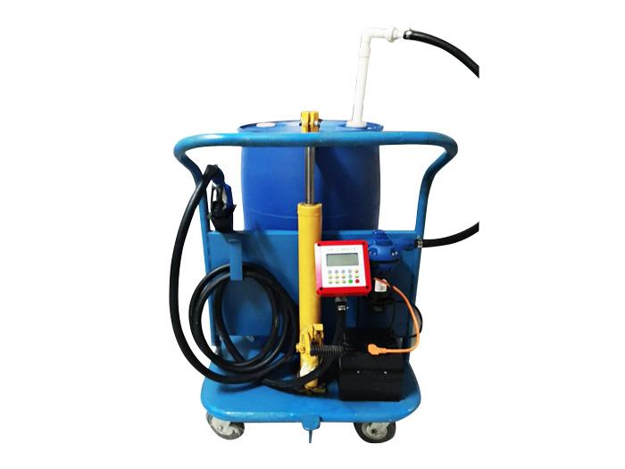 藍桶移動加注小推車