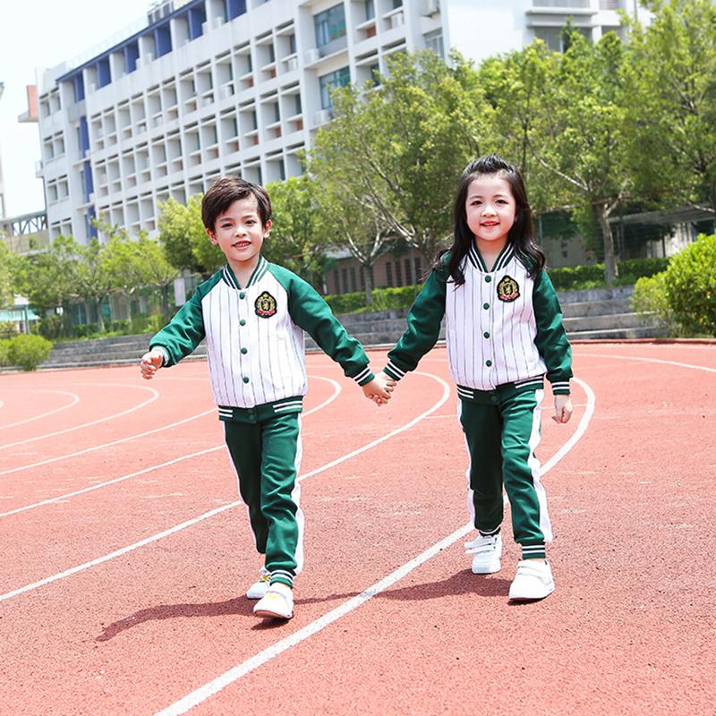 韩版儿童校服供应商_凡歌服饰_英伦风_潮流_运动款_韩版_西装