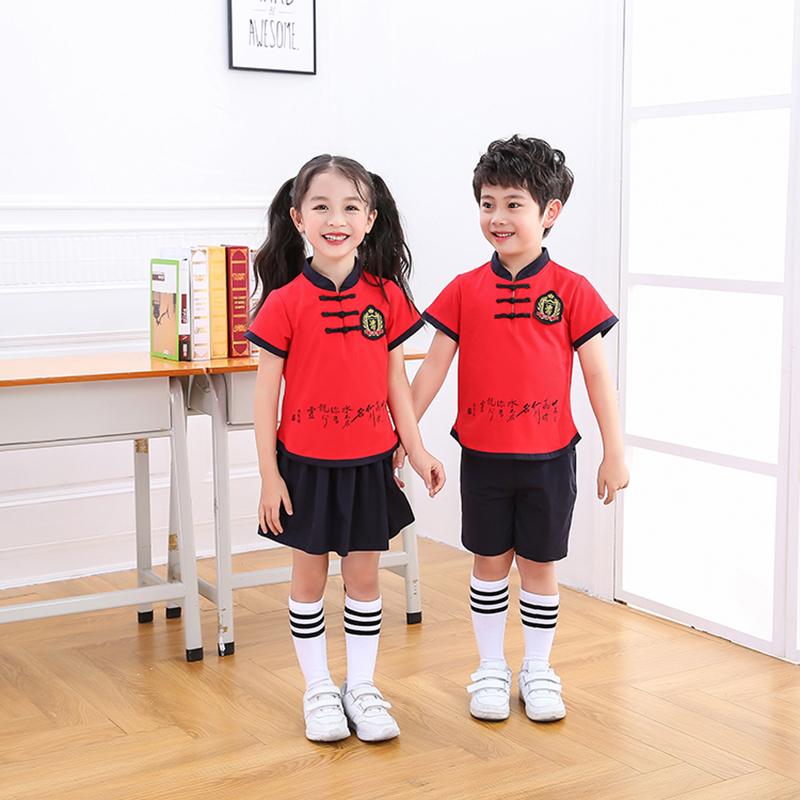 高品质_小清新儿童校服大量现货_凡歌服饰