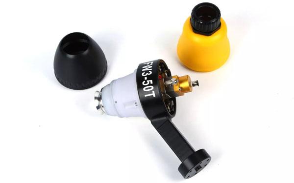 天津快干涂料靜電旋杯噴槍多少錢 飛吻涂裝 噴弧面積廣 油性漆