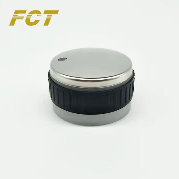 1号带不锈钢盖LED旋钮