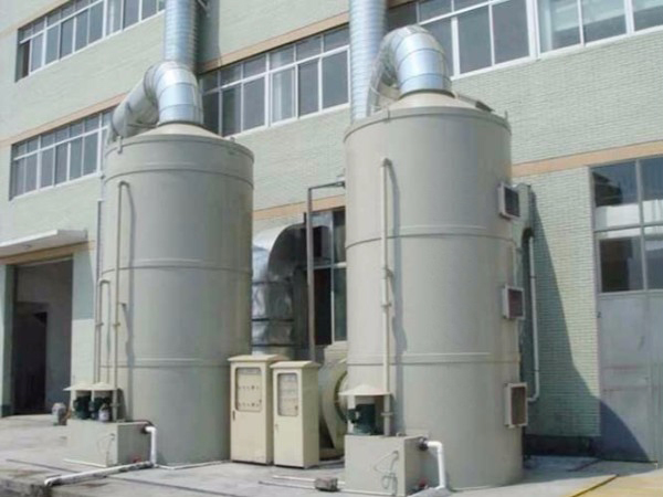 廢氣處理噴淋塔