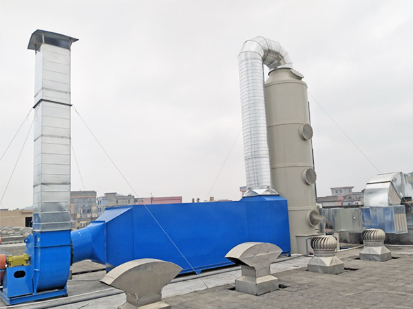 噴漆廢氣處理工程