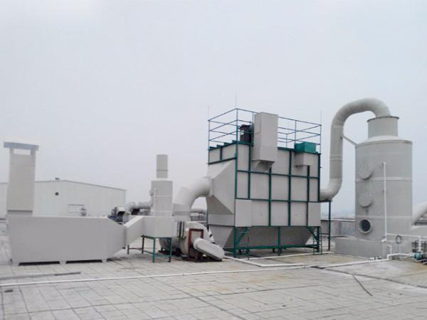 織帶熱轉印廢氣處理設備