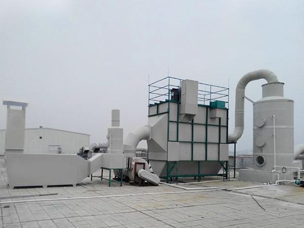廢氣治理設備回收