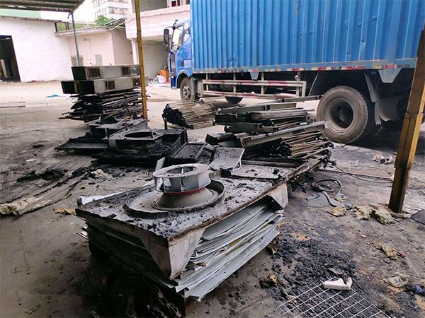 工廠廢鐵回收