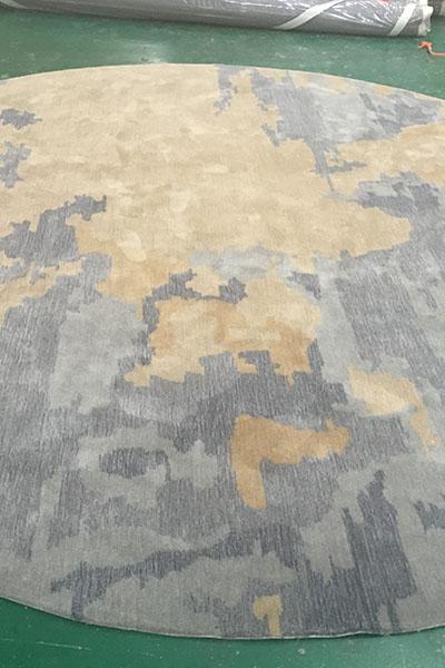 手工定制机织地毯