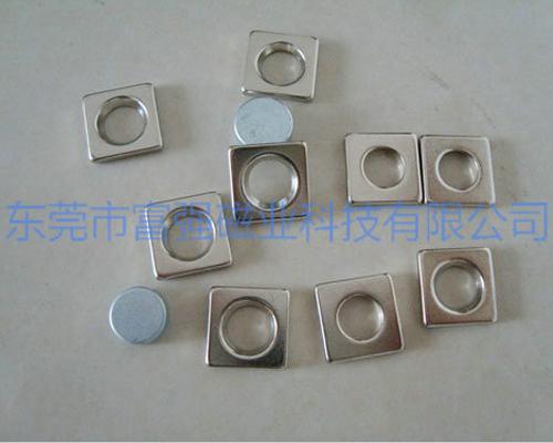 异形强力磁铁生产