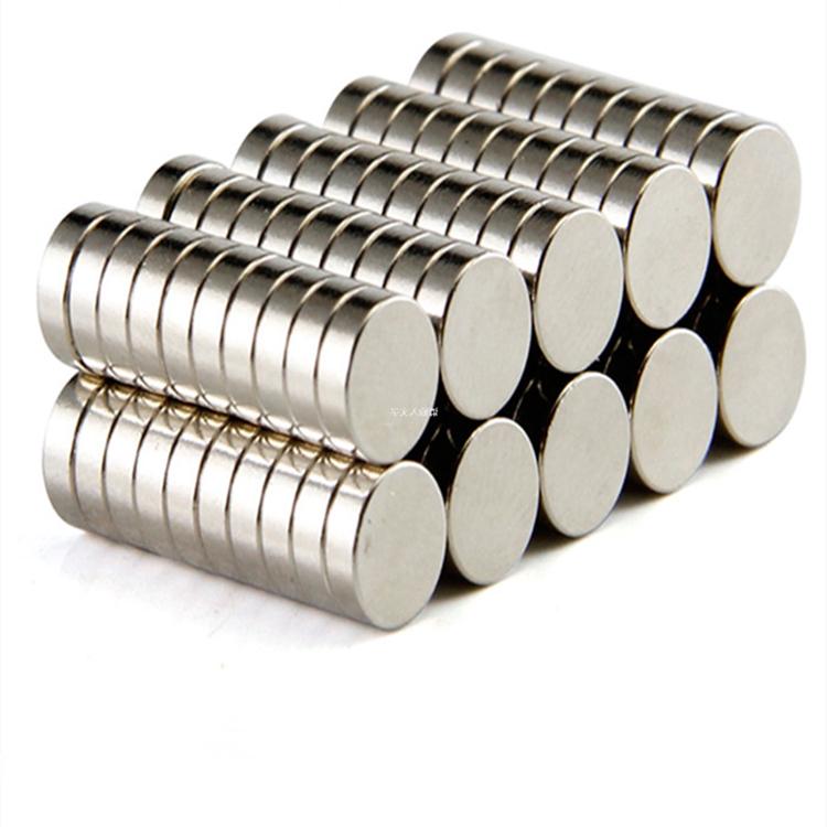 變頻空調壓縮機釹鐵硼磁鐵型號_富強磁鐵_打孔_塑膠