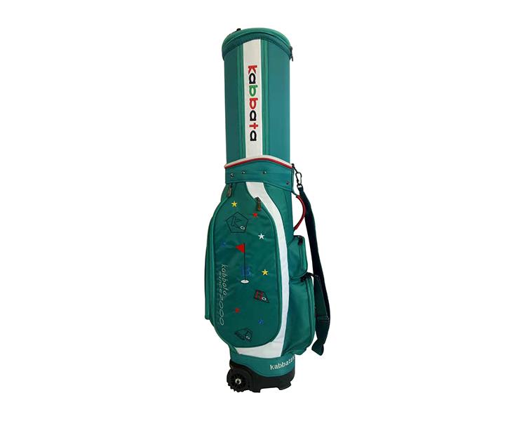 高尔夫绿色抗压伸缩球包