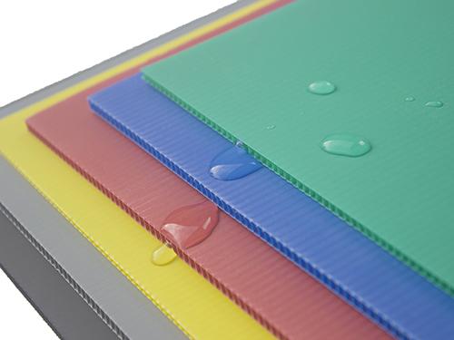 PP中空板色块平板
