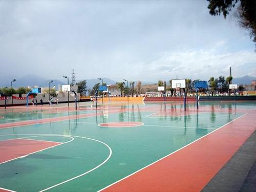 籃球場丙烯酸地坪漆