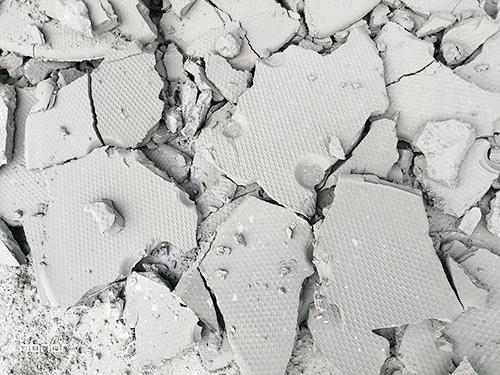 壓濾機壓出的泥餅